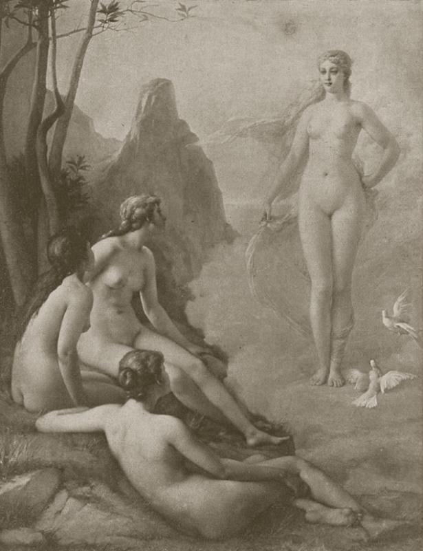 Emmanuel Benner. Венера и три грации