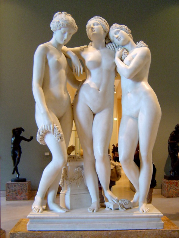 James Pradier. Три грации