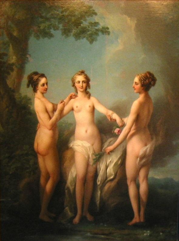 Jean Baptiste van Loo. Три грации