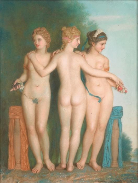 Jean Etienne Liotard. Три грации