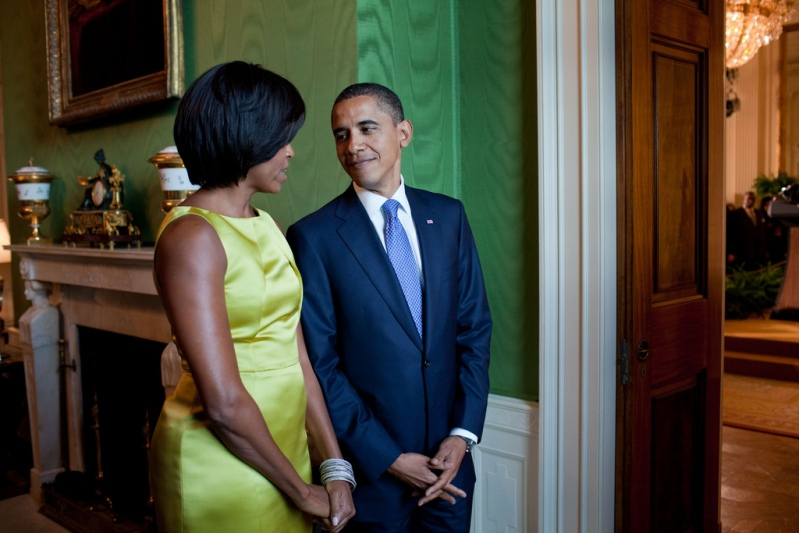 Барак Обама и Мишель Обама. Фото