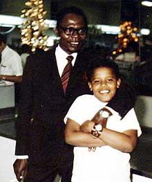 Сын и отец: Барак Обама-младший и Барак Обама-старший