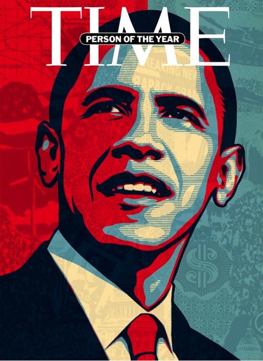 Барак Обама на обложке Time