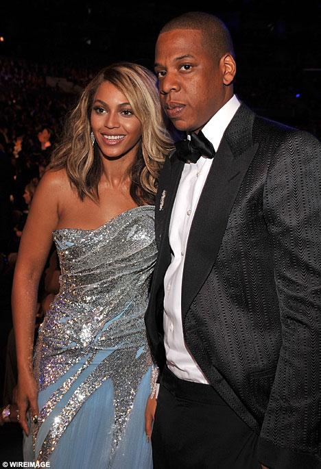 Бейонсе с мужем Jay-Z. Фото