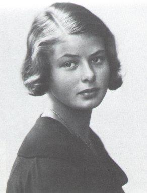 Ингрид Бергман в детстве. Фото / Ingrid Bergman in childhood. Photo