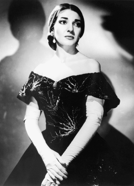 Мария Каллас в опере Джузеппе Верди Травиата (партия Виолетты). Фото / Maria Callas La Traviata photo