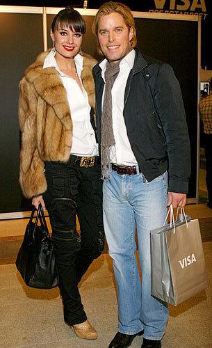 Оксана Федорова и её уже бывший муж Филипп Тофт. Фото