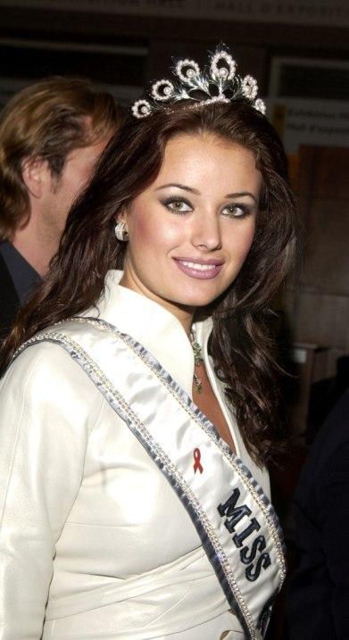 Оксана Федорова, Мисс Вселенная 2002. Фото / Oxana Fedorova, Miss Universe 2002. Photo