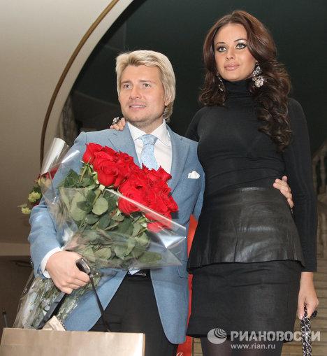 Оксана Федорова и Николай Басков. Фото