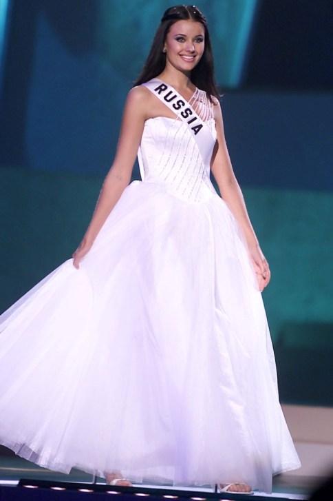 Оксана Федорова, Мисс Вселенная 2002. Фото / Oksana Fyodorova, Miss Universe 2002. Photo