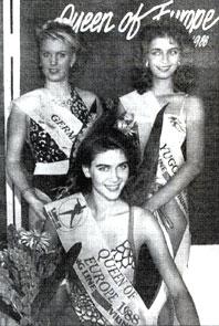 Екатерина Чиличкина. Queen of Europe 1988. Фото