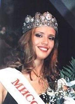 Елена Рогожина, Мисс Европа 1999. Фото