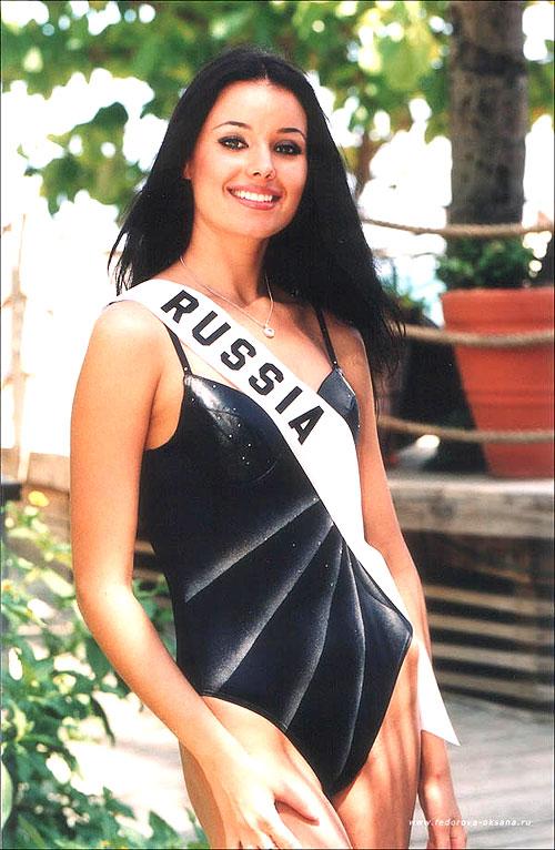 Оксана Фёдорова, Мисс Вселенная 2002. Фото