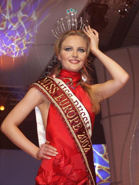Светлана Королёва, Мисс Европа 2002. Фото