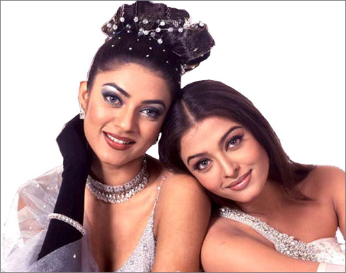 Сушмита Сен и Айшварья Рай фото / Sushmita Sen & Aishwarya Rai photo