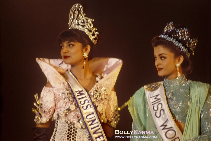 Sushmita Sen & Aishwarya Rai Miss India 1994 photo