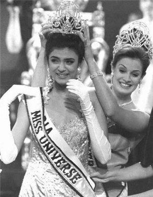 Коронация Сушмиты Сен Мисс Вселенная 1994 фото / Sushmita Sen Miss Universe 1994 photo