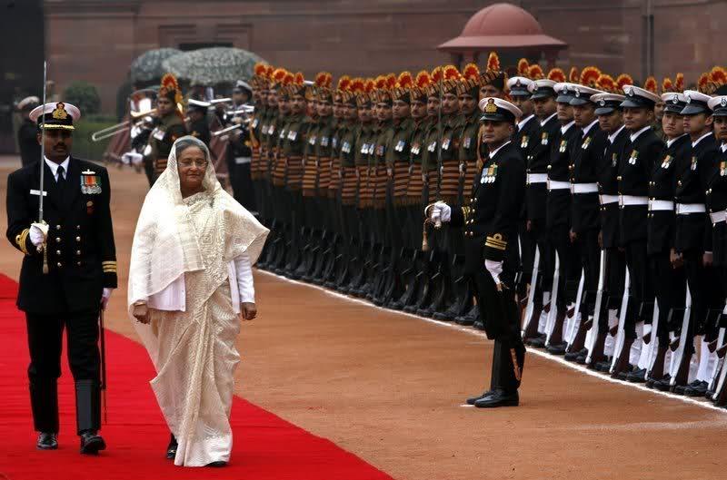 Визит Шейх Хасины в Индию