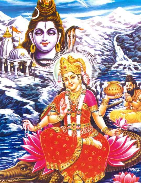 Богиня Ганга