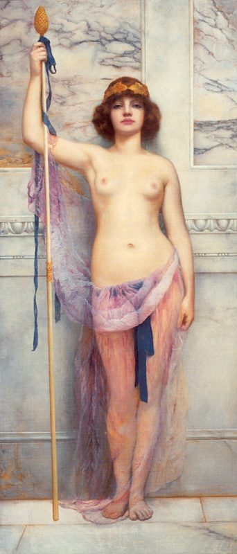 ���� ������ �������. ����� / John William Godward. A Priestess