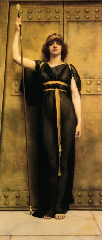 Джон Уильям Годвард. Жрица / John William Godward. A Priestess