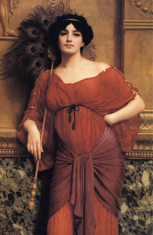 Джон Уильям Годвард. Римская матрона / John William Godward. A Roman Matron