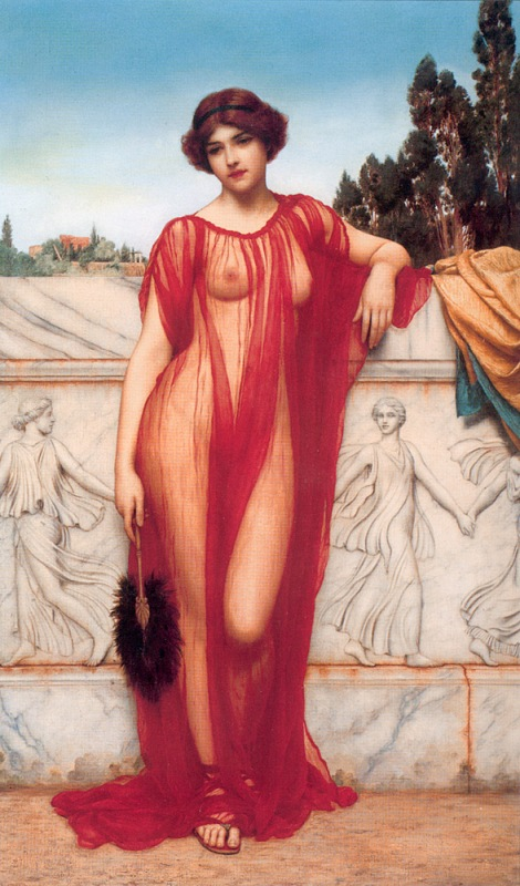 Джон Уильям Годвард. Афинянка / John William Godward. Athenais