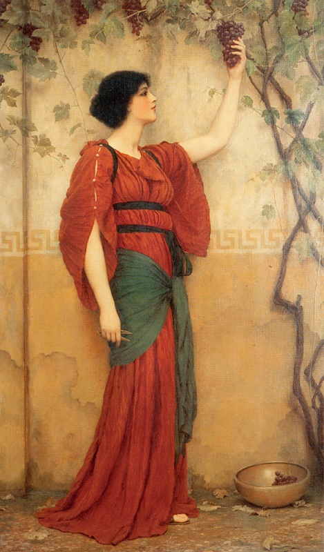 Джон Уильям Годвард. Осень / John William Godward. Autumn