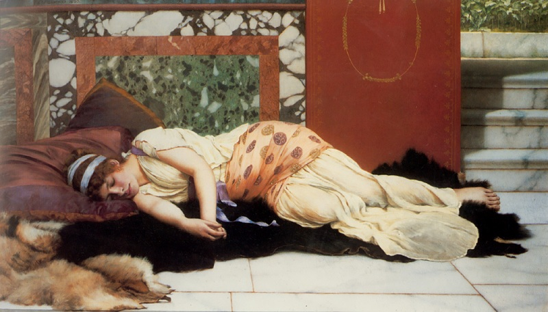 Джон Уильям Годвард. Эндимион / John William Godward. Endymion