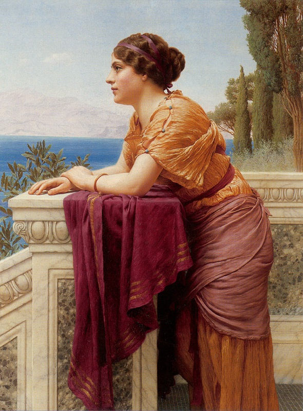 Джон Уильям Годвард. Бельведер / John William Godward. The Belvedere