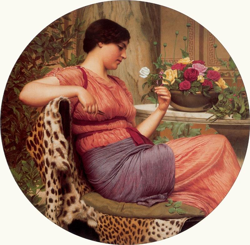Джон Уильям Годвард. Время роз / John William Godward. The Time of Roses