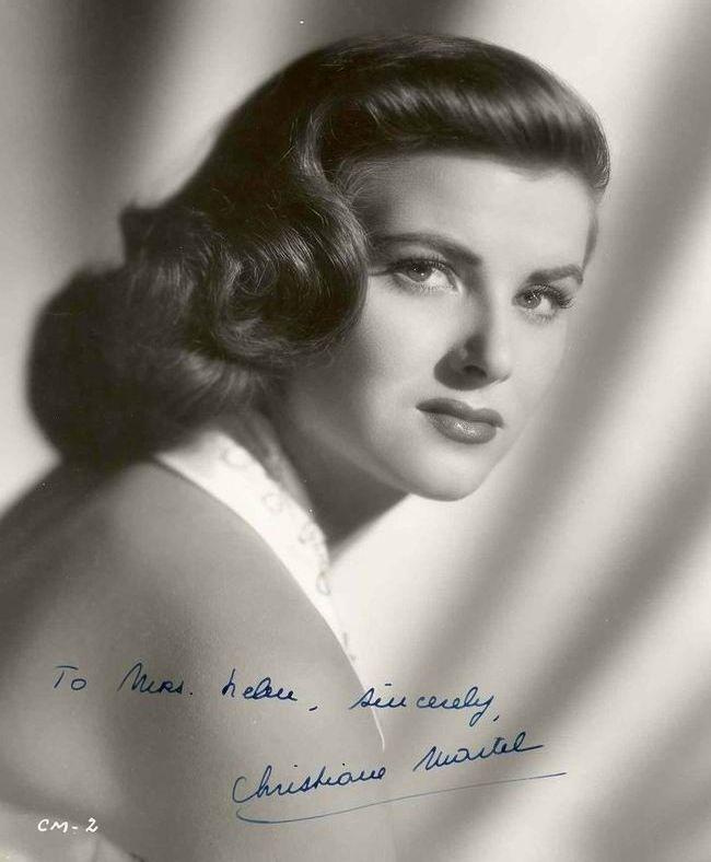 Кристиан Мартель Мисс Вселенная 1953 Фото / Christiane Martel Miss Universe 1953 Photo