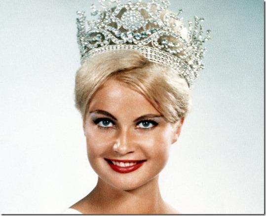 Марлен Шмидт Мисс Вселенная 1961 фото / Marlene Schmidt Miss Universe 1961 photo