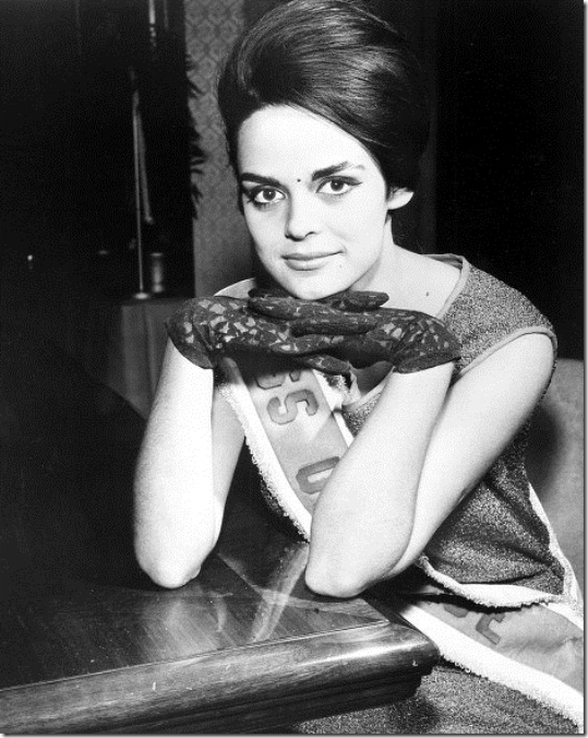 Коринна Тсопей Мисс Вселенная 1964 фото / Corinna Tsopei Miss Universe 1964 photo