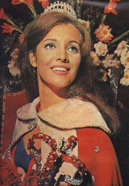 Марта Васконселлос Мисс Вселенная 1968 фото / Martha Vasconcellos Miss Universe 1968 photo