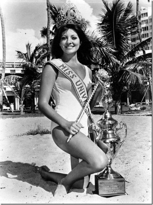 Георгина Риск Мисс Вселенная 1971 фото / Georgina Rizk Miss Universe 1971 photo