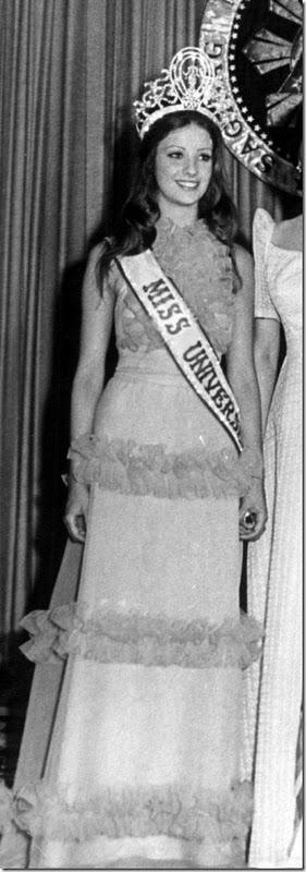 Ампаро Муньос Мисс Вселенная 1974 фото / Amparo Muñoz Miss Universe 1974 photo