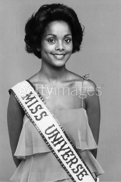 Джанель Комиссионг Мисс Вселенная 1977 фото / Janelle Commissiong Miss Universe 1977 photo