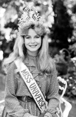 Лорейн Даунс Мисс Вселенная 1983 фото / Lorraine Downes Miss Universe 1983 photo