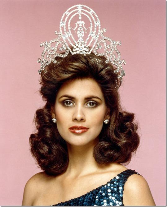 Дебора Карти Деу Мисс Вселенная 1985 фото / Deborah Carthy-Deu Miss Universe 1985 photo
