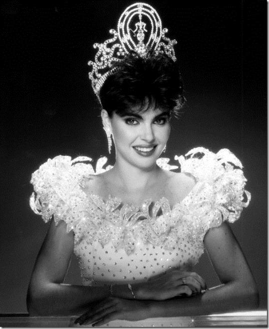 Барбара Паласиос Tейде Мисс Вселенная 1986 фото / Bárbara Palacios Miss Universe 1986 photo