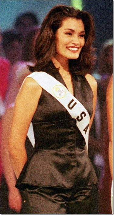 Брук Махеалани Ли Мисс Вселенная 1997 фото / Brook Mahealani Lee Miss Universe 1997 photo