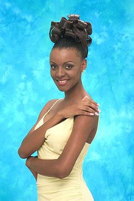 Мпуле Квелагобе Мисс Вселенная 1999 фото / Mpule Kwelagobe Miss Universe 1999 photo