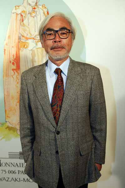 Японский режиссёр-аниматор Хаяо Миядзаки. Фото / Hayao Miyazaki photo