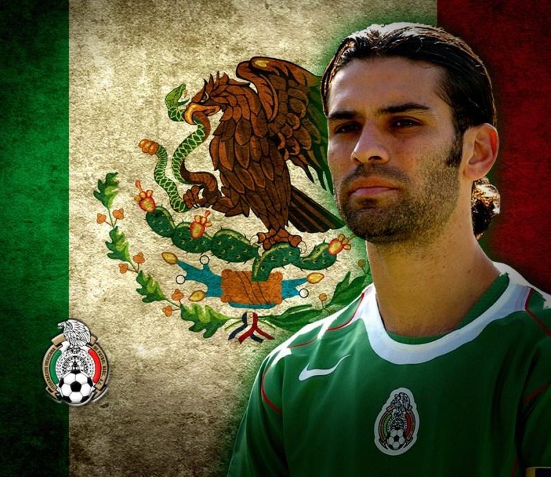 Мексиканский футболист Рафаэль Маркес, капитан сборной Мексики фото / Rafael Marquez photo