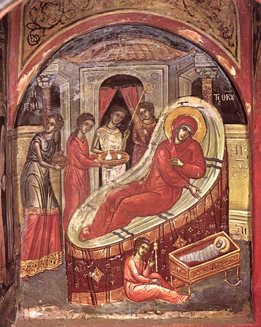 Рождество Пресвятой Богородицы. Икона / Nativity of Mary
