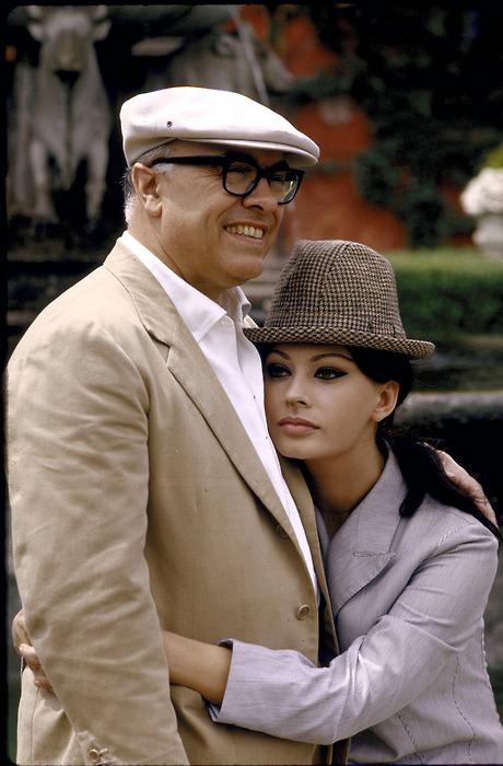 София Лорен и Карло Понти, 1964 год. Фото