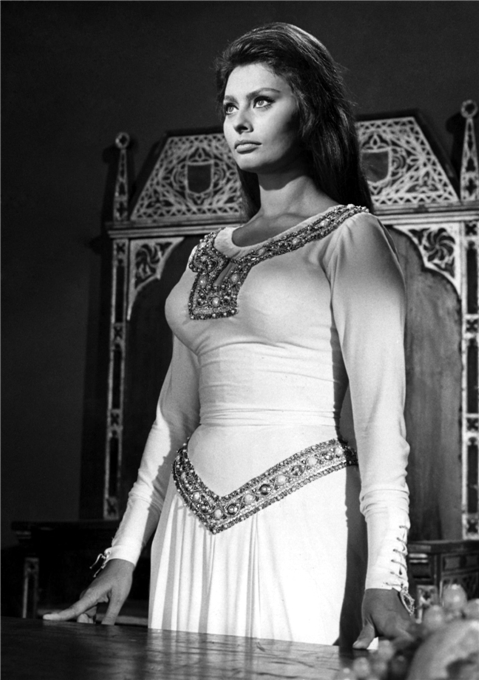 Итальянская актриса София Лорен. Фото / Sophia Loren. Photo