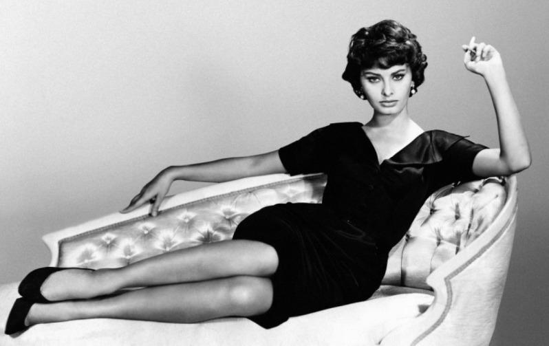 София Лорен в фильме Чёрная орхидея / Sophia Loren The Black Orchid (1958 film)