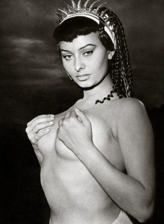 Обнаженная Софи Лорен. Фото / Sophia Loren nue. Photo